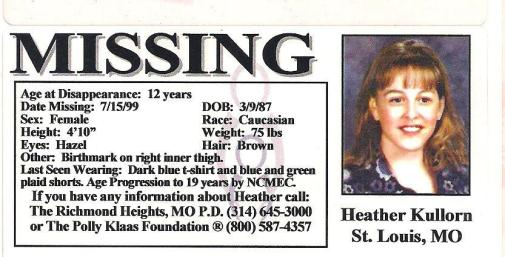 Heather K Missing