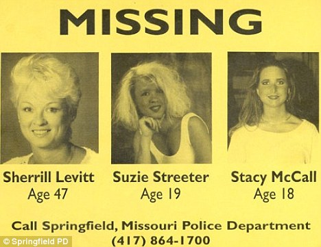 Springfield Three Missing Poster