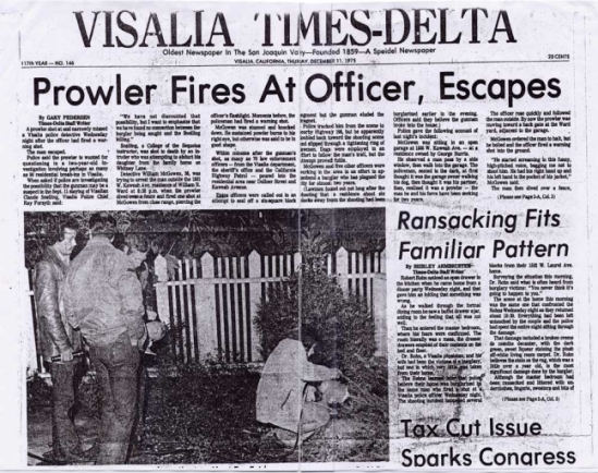 VR Shooting News Paper Clipping