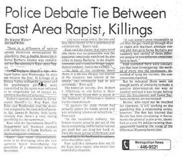 EARONS Police Debate Newspaper