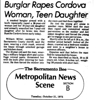 EAR 1975 newspaper clipping